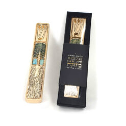 tree of life cermic mezuzah